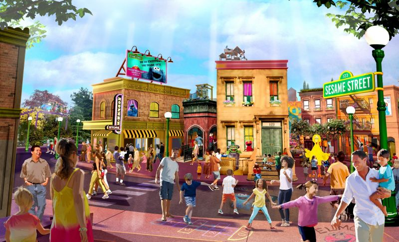 sesame street at seaworld orlando rendering