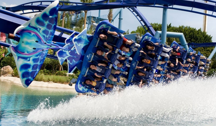 Sea World Manta Rollercoaster