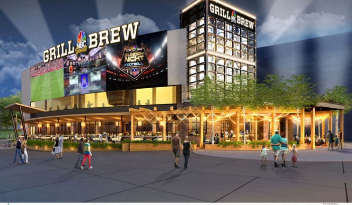 NBC Sports Grill & Brew ab Herbst in Orlando