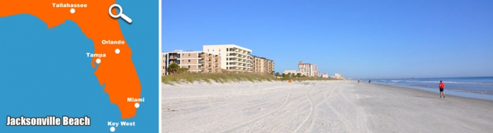 Jacksonville Beach - Strand in Florida
